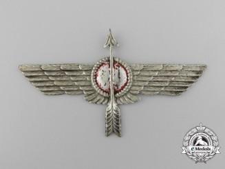 A Spanish Civil War Republican Air Force Fighter Pilot's Badge