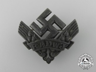 An RADwJ Labour Service of the Reich for the Female Youth Cap Badge