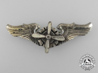 An American Army Air Force Flight Engineer Badge