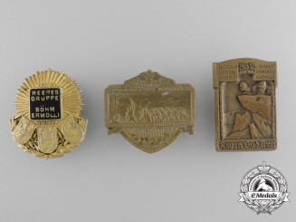 Three First War Austrian Imperial Badges