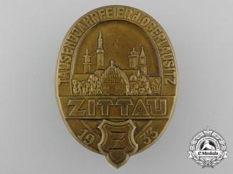 Germany. A 1933 Zittau Thousand Year Anniversary Badge