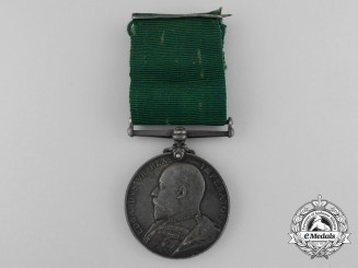 A Colonial Auxiliary Forces Long Service Medal to the 10th Regiment Infantry; Royal Grenadiers