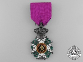A Belgian Order of Leopold; Knight, Military Division