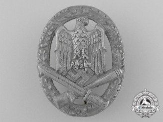 A General Assault Badge; Unmarked