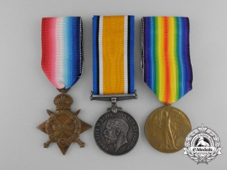 A First War Medal Grouping to the 42nd Canadian Infantry Battalion
