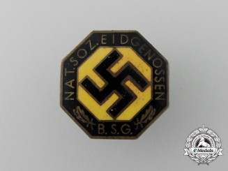 A Rare Swiss NSDAP Party Membership Badge