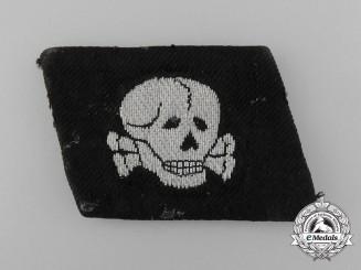 A Fine Officer's Collar tab, Waffen-SS 3d. SS Panzer Division – Totenkopf