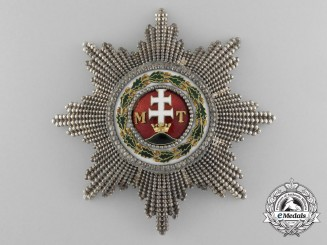 A Fine Austrian Imperial Order of St. Stephen by Rothe; Grand Cross, c.1900