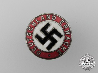 """A  """"Deutschland Erwache"""" (Germany Wake Up) Badge"""