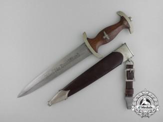 An Early SA Dagger by C.G. Haenel Waffen und Fahrrad Fabrik