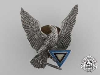 A Second War Period Rare Estonian Pilot`s Badge