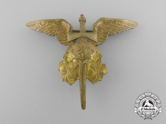 Czechoslovakia.An Air Observer of Arms Badge