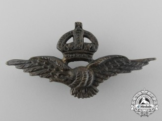 A Scarce Canadian Made Royal Air Force (RAF) Officer's Bronze Sleeve Eagle