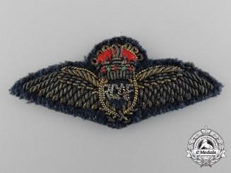 A Scarce 1926 Royal Canadian Air Force (RCAF) Pilot Miniature Mess Dress Wings