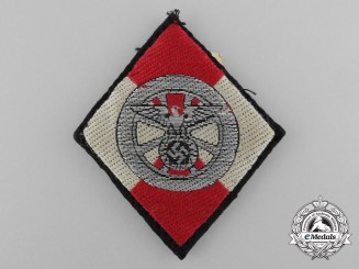 An NSKK Sleeve Diamond Insignia for Former HJ Members by Zieh-Press-und Stanzwerk G.m.b.H.