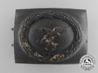 A Luftwaffe Enlisted Man's Belt Buckle 1942