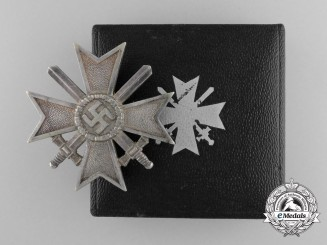 An Early War Merit Cross First Class in Original Case of Issue