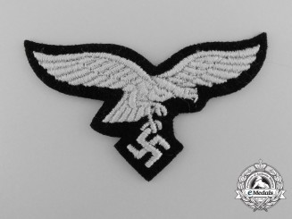 A Mint Luftwaffe Cap Eagle for EM/NCO's in Hermann Göring Tank Division