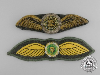 Two Irish Air Corps Pilot Wings