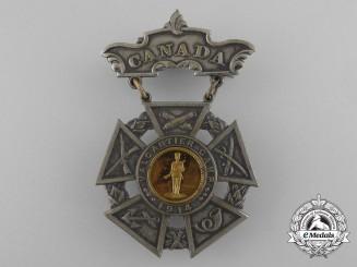 A 1914 Valcartier Camp Mobilization Medal