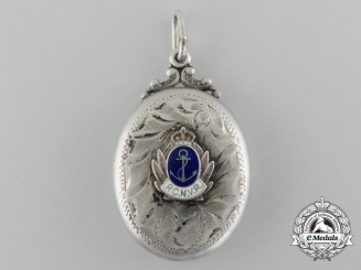 A Royal Canadian Naval Volunteer Reserve (RCNVR) Locket