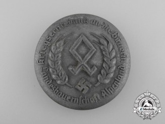 A Reichsnährstand Wartime Harvest Appreciation Female Farmers Badge