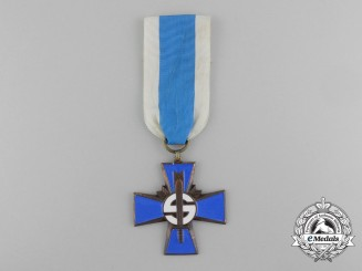 Finland. A Blue Cross for the Civil Guard, by Veljekset Sundqvist