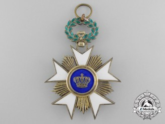 A Belgian Order of the Crown; Grand Cross Sash Badge