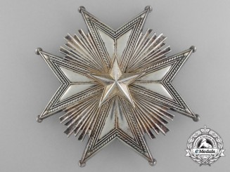 A Swedish Order of the North Star; Grand Cross Star by C.F. Carlman