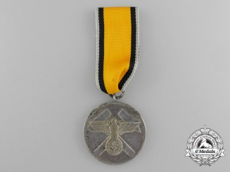 A German Second War Mine Rescue Honour Award