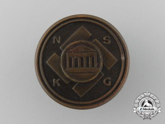 A Second War German National Socialist Cultural Community (NSKG) Badge