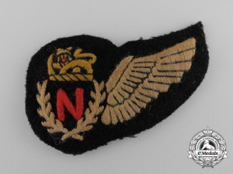 A Second War Rhodesian Air Force; Navigator's Half Wing