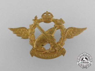 A South African Air Force; Navigator/Bomb Aimer Badge, 1937
