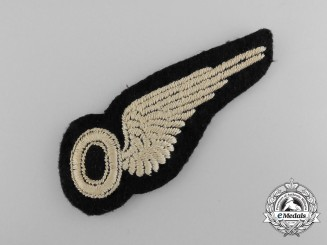 A Royal Air Force (RAF) Aircrew Observer Brevet