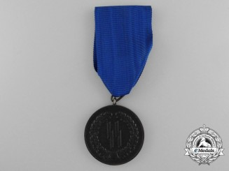 An SS-Four Years Service Medal by Deschler