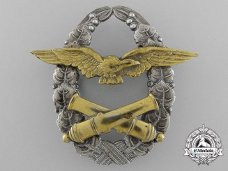An Early Czechoslovakian Balloon-Pilot Breast Badge