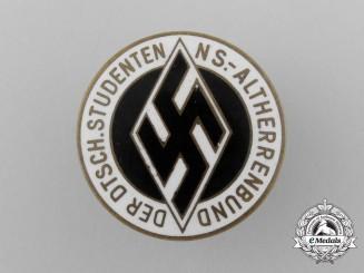 A National Socialist Deutscher Studentenbund (DS) Membership Badge