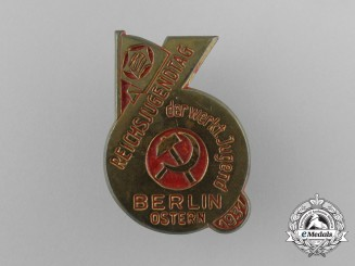 A 1931 Berlin-East Socialist Day of Youths Day Badge