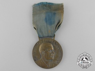 An Italian Army Long Command Merit Medal, Silver Grade