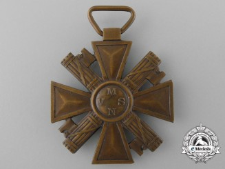 "An Italian Voluntary Militia for National Security ""Blackshirts"" (MVSN) Long Service Cross for Ten Years' Service"