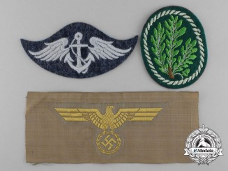 A Lot of Three Second War German Insignia