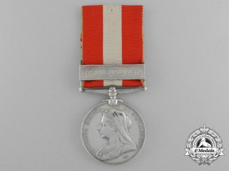 Canada, Dominion. A General Service Medal to the 43rd (Carleton Infantry) Battalion