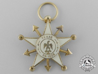 A Rare 1836 Mexican Star for Texas; Battle of the Alamo
