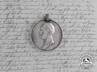 The Waterloo Medal of Ensign Baron Bülow of the 2nd Light Dragoons