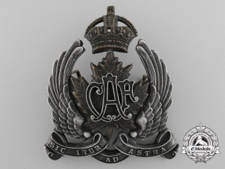 Canada. A Rare 1920-1924 Canadian Air Force (CAF) Visor Badge