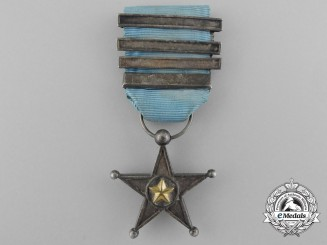 A First Pattern Belgian Congo Silver Service Star