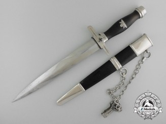 A Numbered Postal Protection Leader's Dagger by Paul Weyersberg & Co., Solingen