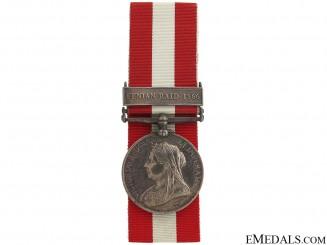 Canada General Service Medal- American Recipient