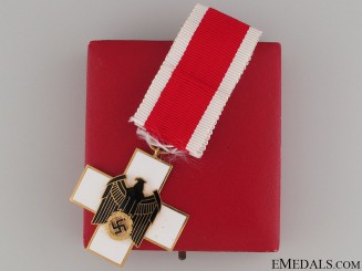 Cased German Social Welfare Decoration