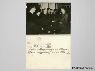 Catholic Priests Visiting Pavelic Photo